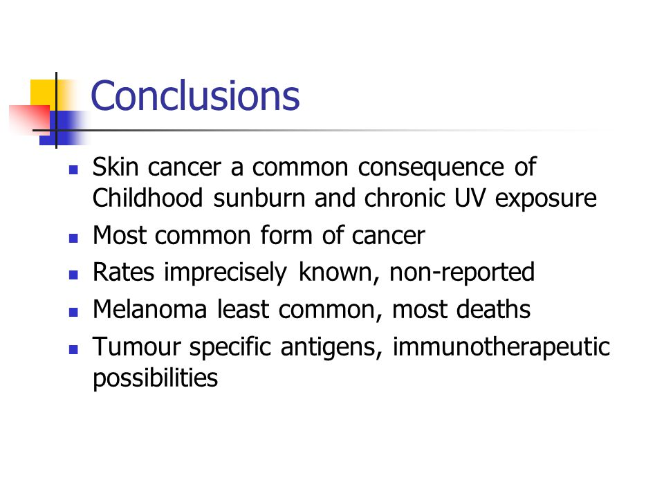 conclusion for leukemia