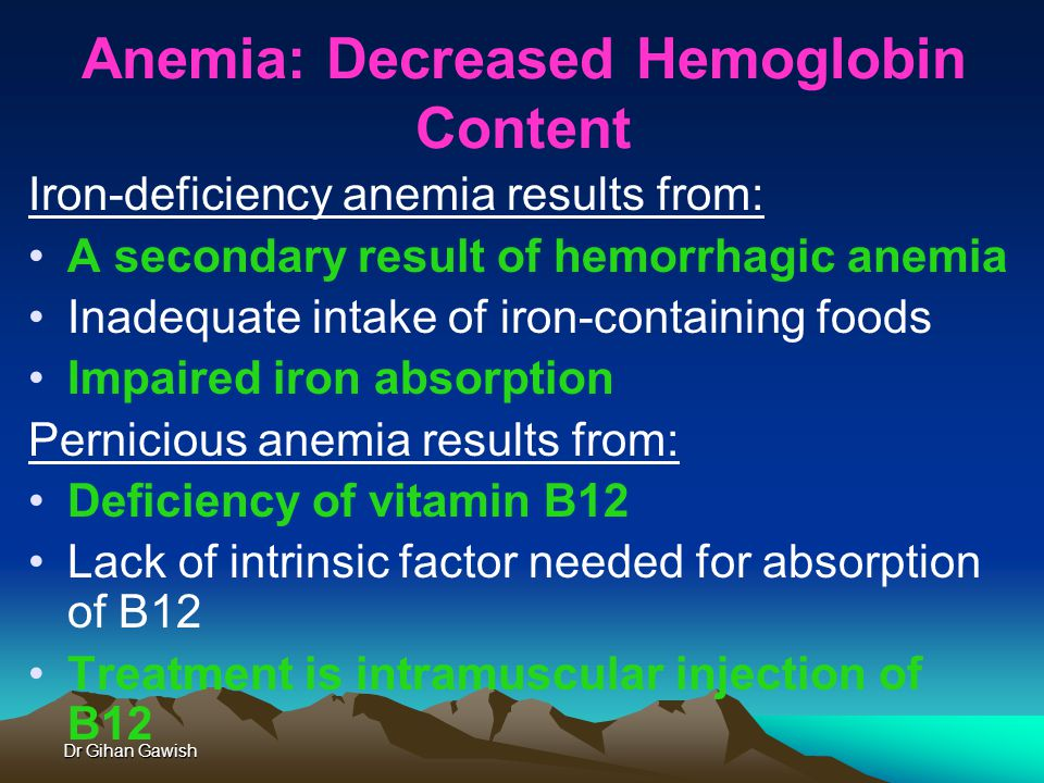 Anemia Dr Gihan Gawish. - ppt video online download