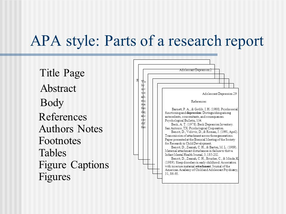 what are the parts of a college term paper based on apa Term paper: format of citations and references 1 we will be using the documentation style of the american psychological association (apa the purpose of the term paper in ecs 15 is for you to learn how to do effective research on a subject and then write it up clearly.