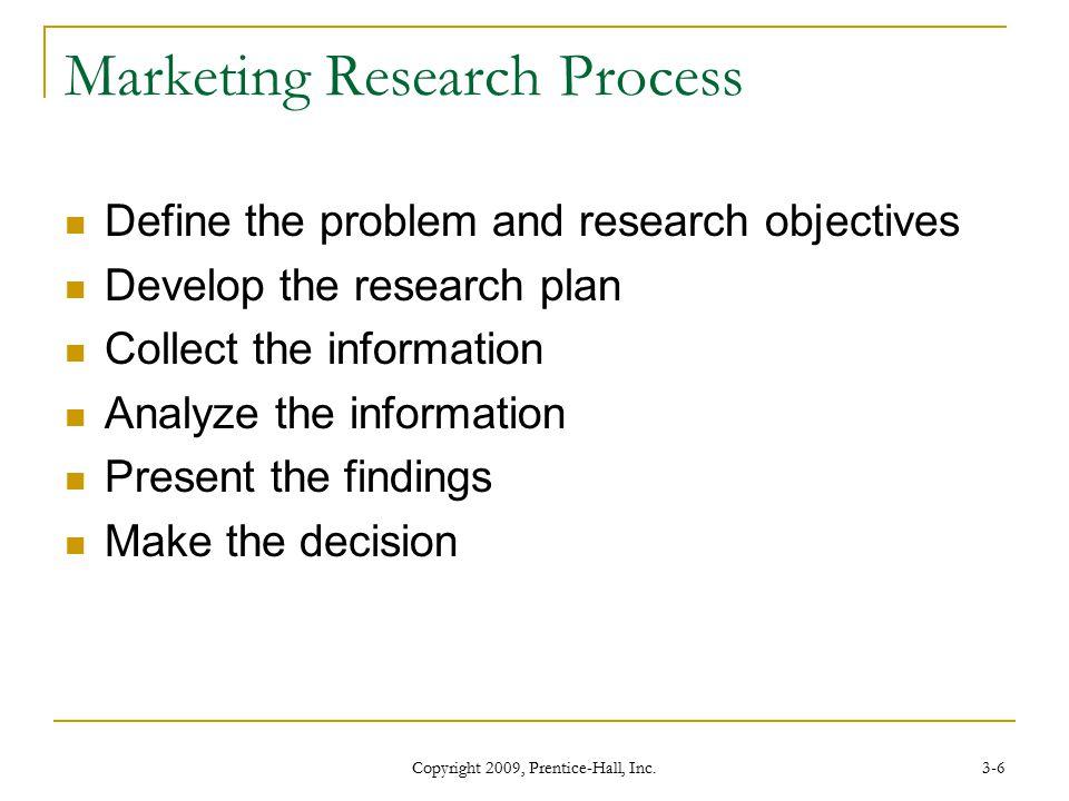 Define the research process