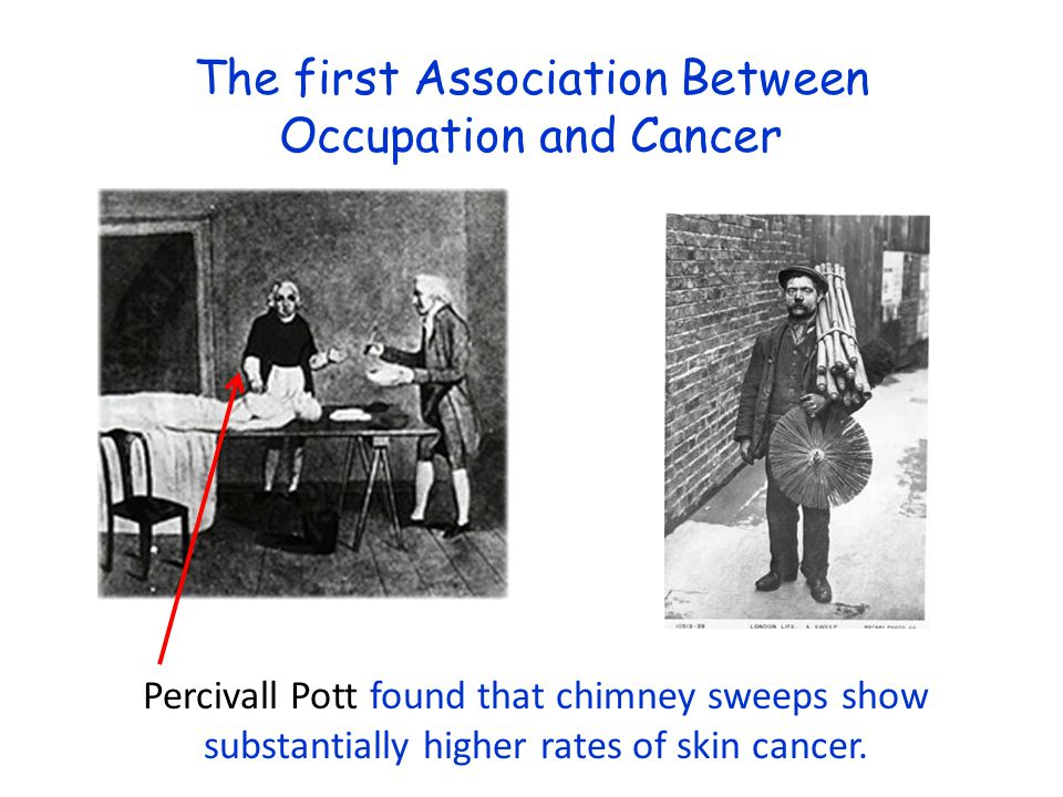 The first Association Between Occupation and Cancer
