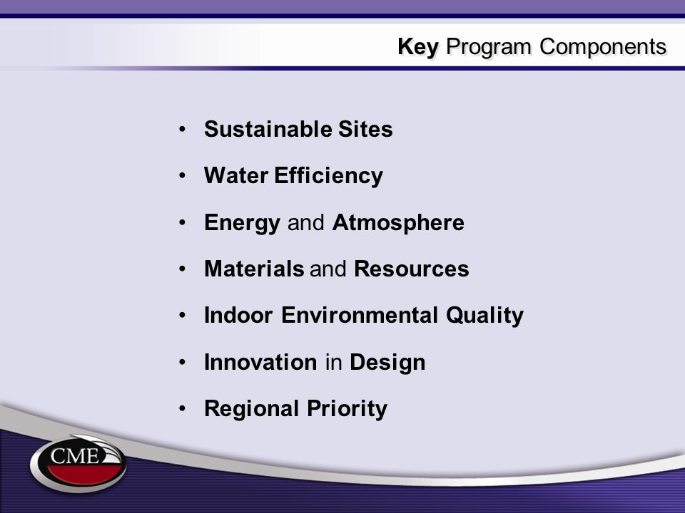 Introducing connecticut leed program for green buildings for Indoor environmental quality design