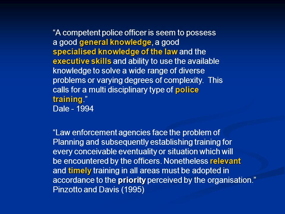 problems encountered by police officers Police stress stress plays a part court appearances interfere with police officers' work , departments either ignored officers with problems or dealt with.