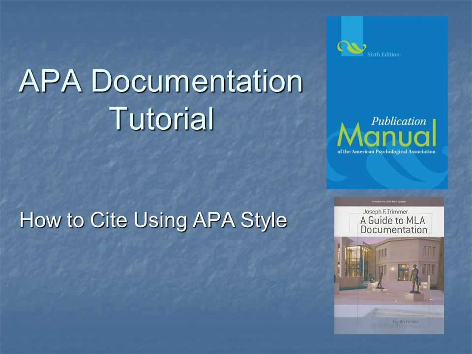 apa documentation in research papers Apa style apa (american psychological association) documentation is used in scientific research papers because internet technology is constantly changing, so is the apa documentation style for information published on the net.