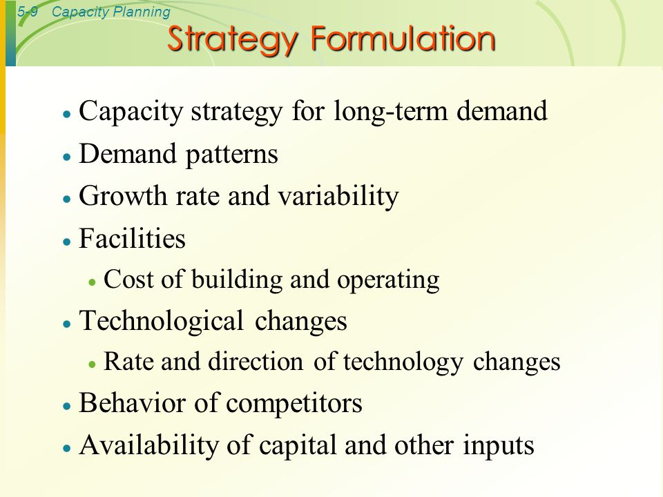operations management long term expansion strategies Strengthens long-term relationships with their suppliers (harvard business school, 1996) strategic global outsourcing of product manufacturing has enabled ikea to effectively reduce prices on their product, leading to international expansion (hill & jones, 2005.