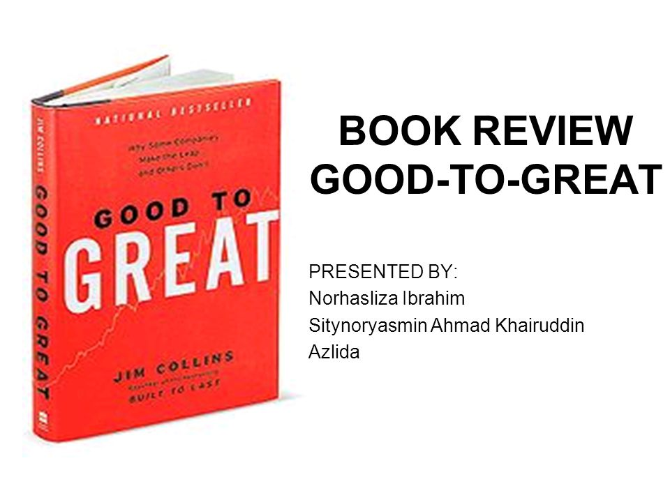 a book review on the great The great books national review's national correspondent and professor at hillsdale college, john j miller, discusses classic works within the western literary canon.