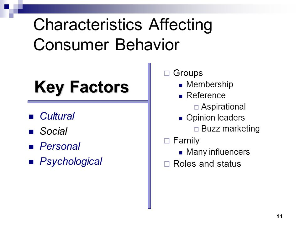 5 characteristics affecting consumer behavior Start studying marketing ch 5 & 6 learn vocabulary,  5 characteristics affecting consumer behavior 1 culture ( culture , sub culture, social class) 2.
