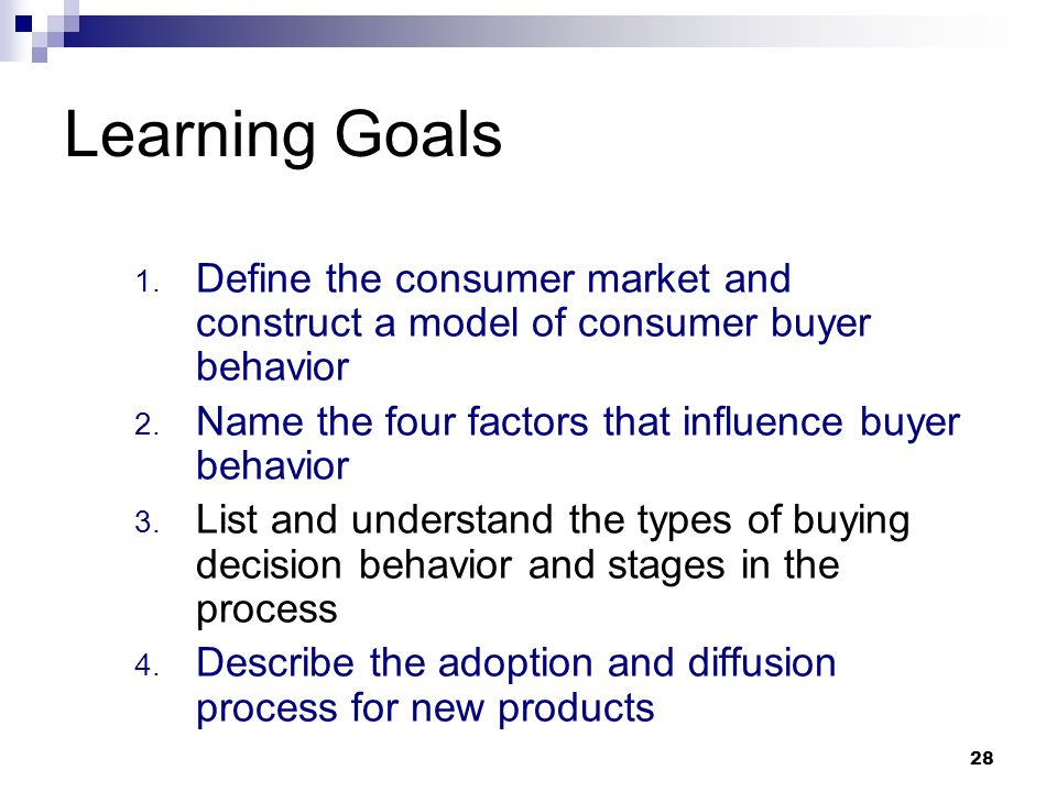 define the consumer market and construct a simple model of consumer buyer behavior This translates into personal offers and personal experiences that increasingly define the consumer-to-brand relationship  marketing, outbrain customer behavior doesn't change drastically it .