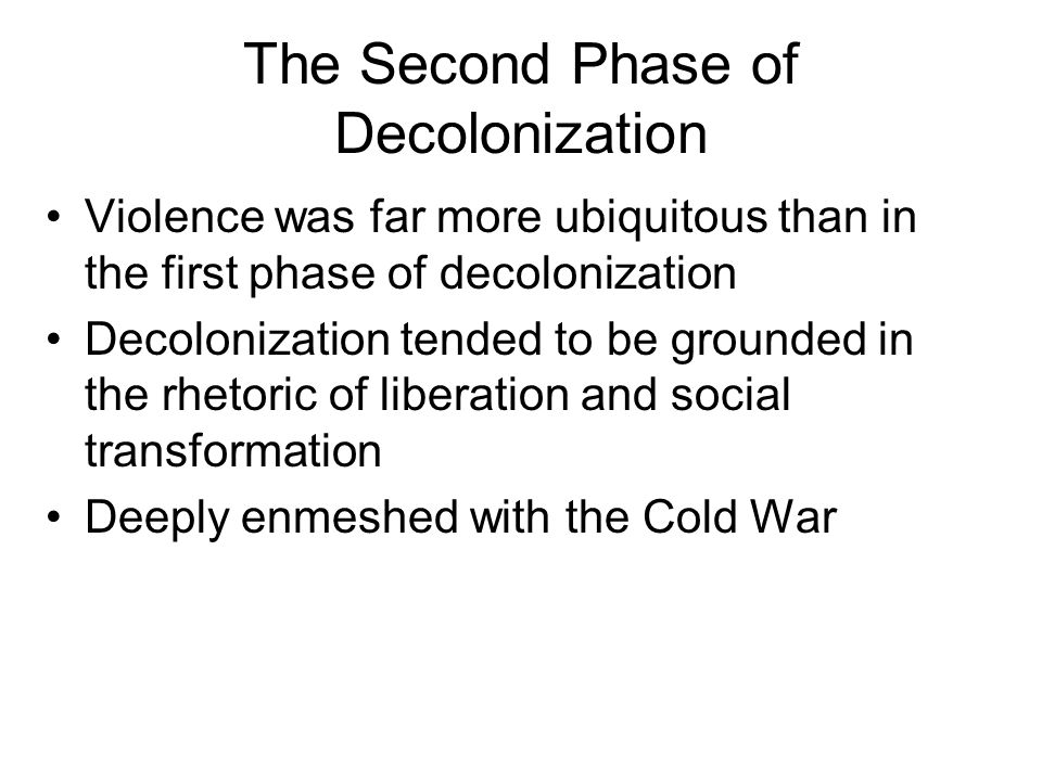 phases of colonialism 272 colonialism, stages of colonialism and the colonial state bipan chandra 1 colonialism as a social formation (a) quite often, the underdevelopment and the economic obstacles to develop-.