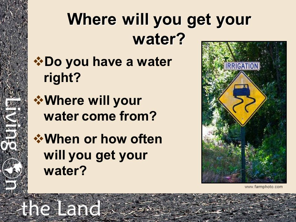 how to get your well water tested