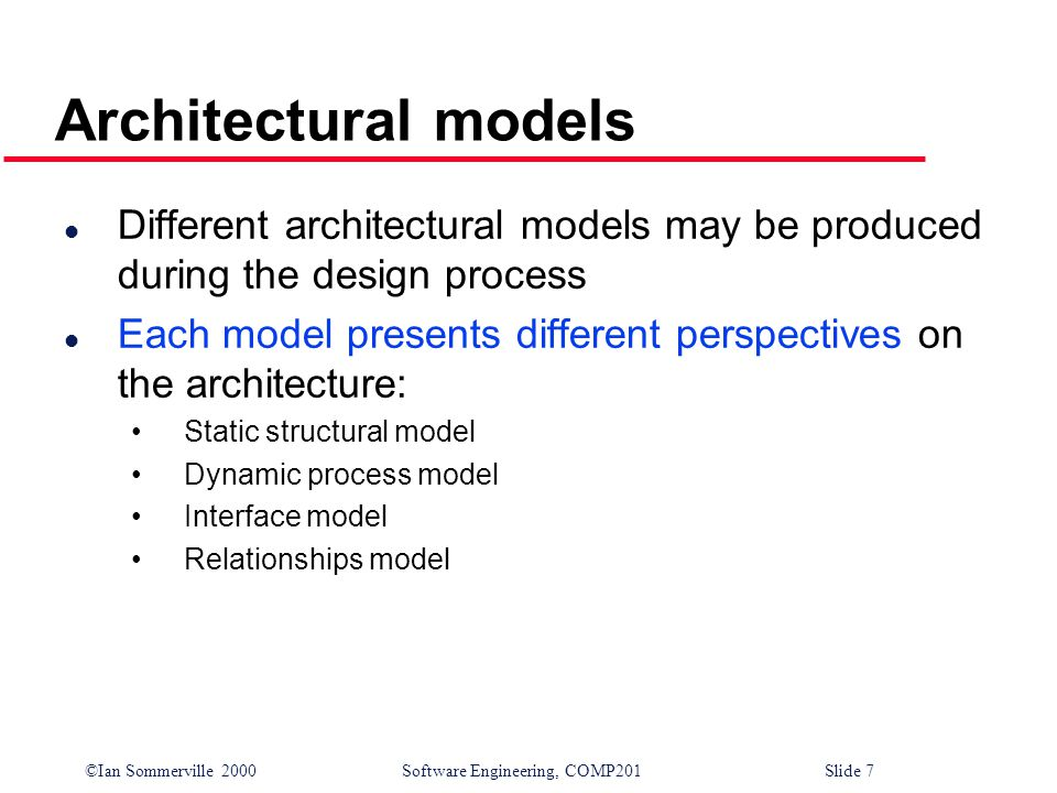 architectural design distributed systems architectures ppt download