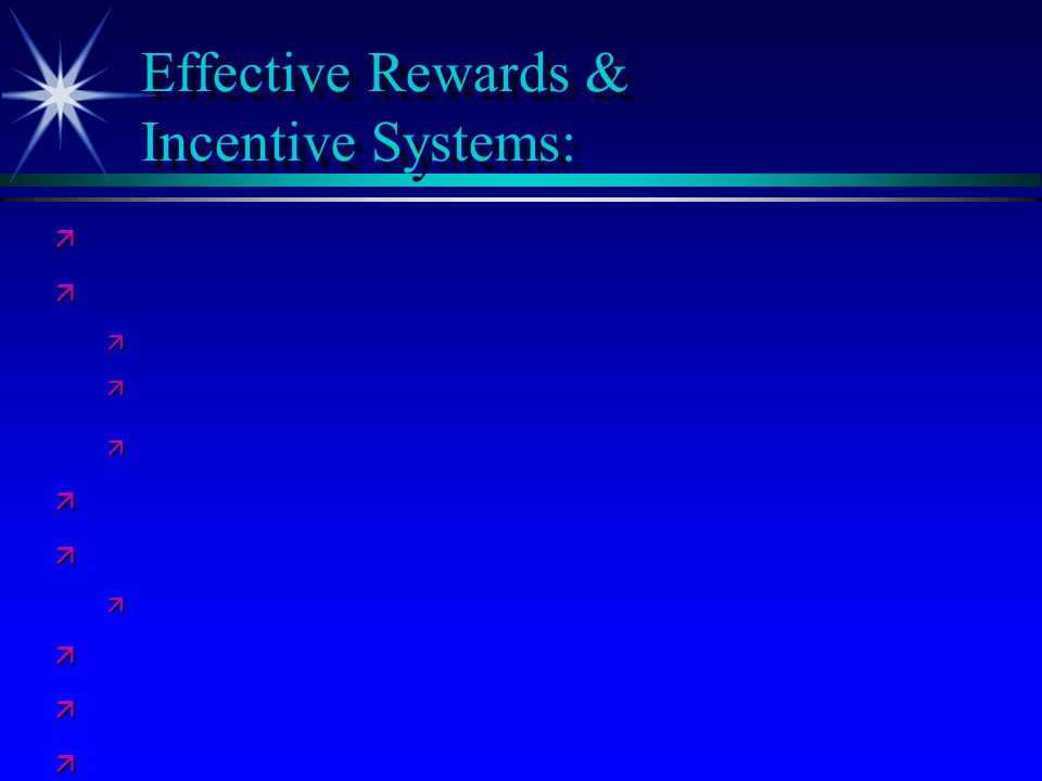 the effectiveness of incentive reward and Bernhard e reichert and alexander woods (2017) does motivational orientation impact the effectiveness of incentive contractsjournal of management accounting research: summer 2017, vol 29, no 2, pp 87-103.