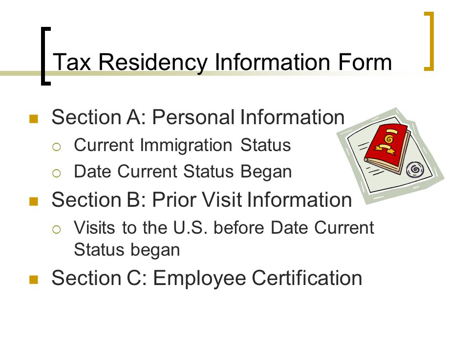 how to get a foreign tax residency status