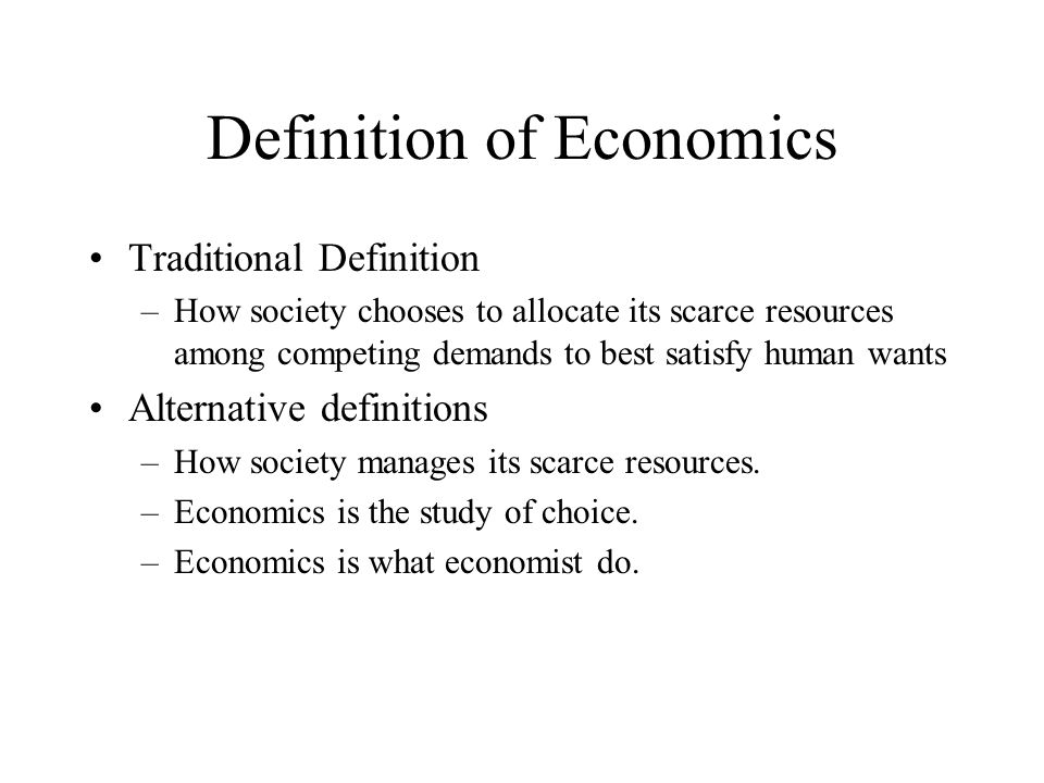 definition of economics Dictionary definition of economics the branch of social science that deals with  the production and distribution and consumption of goods and services and their .