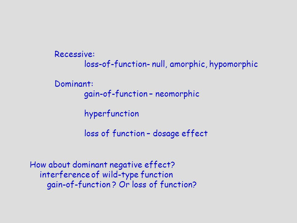 how to make dominant negative mutation