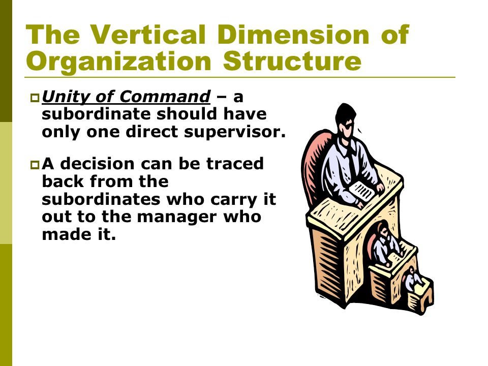 The Vertical Dimension of Organization Structure