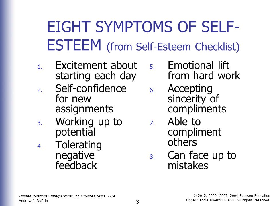 self esteem and great number Because self-esteem is a combination of how adolescents define and evaluate themselves, parents need to help teenager define themselves broadly and evaluate themselves kindly  petty and great.