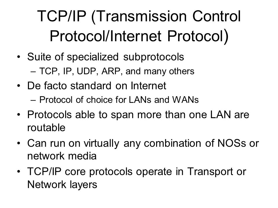 transmission control protocol and windows media Isys 201 hardware and networks study play cache memory  the three most commonly used types of guided media are: twisted-pair wiring, coaxial cable, fiber-optic cable hypertext transport protocol (http)  transmission control protocol/internet protocol twisted-pair wiring.