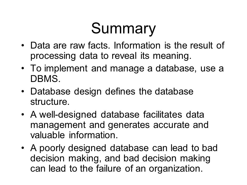 Database Systems Ppt Download