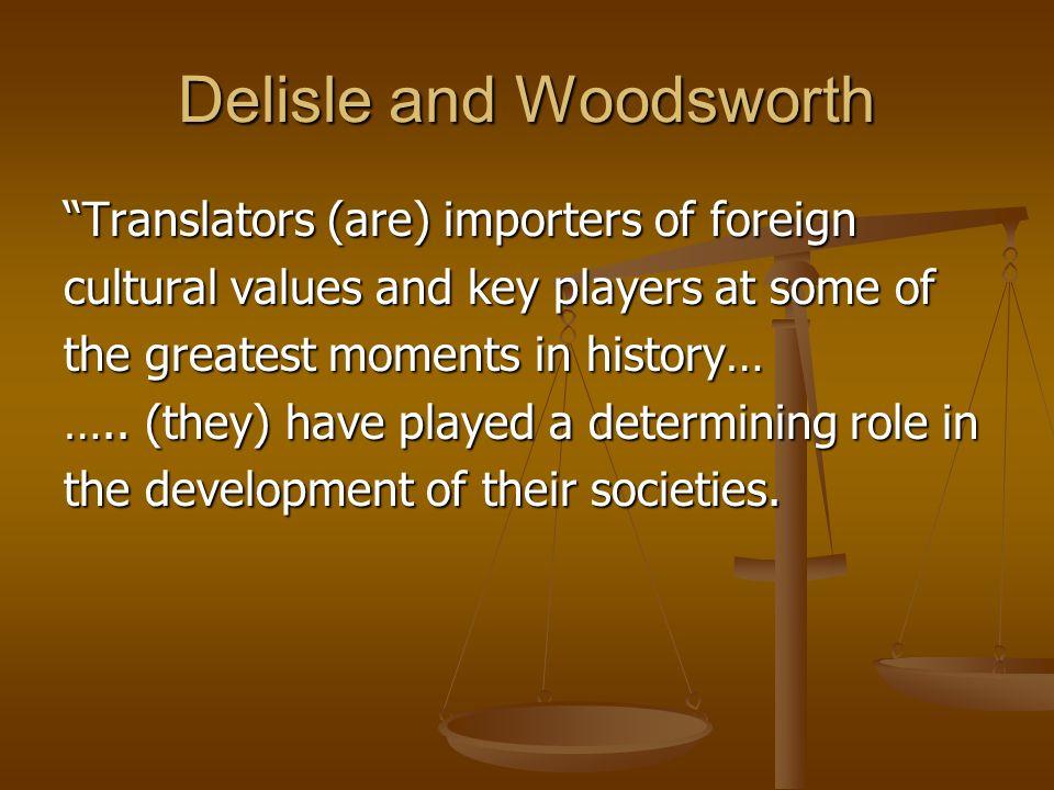 Delisle and Woodsworth