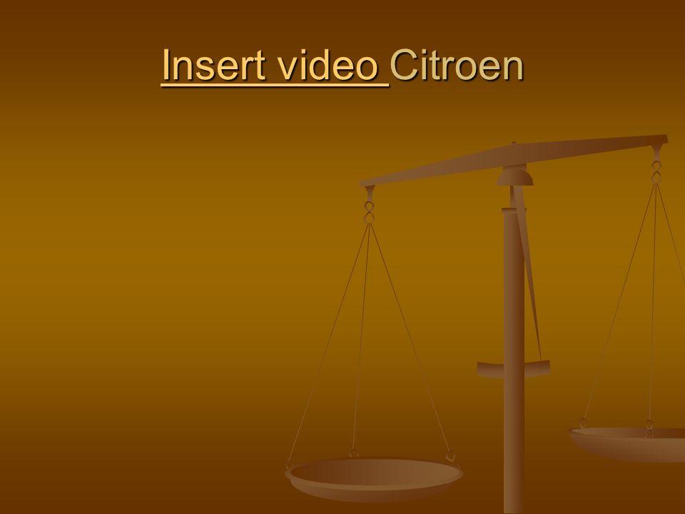 Insert video Citroen