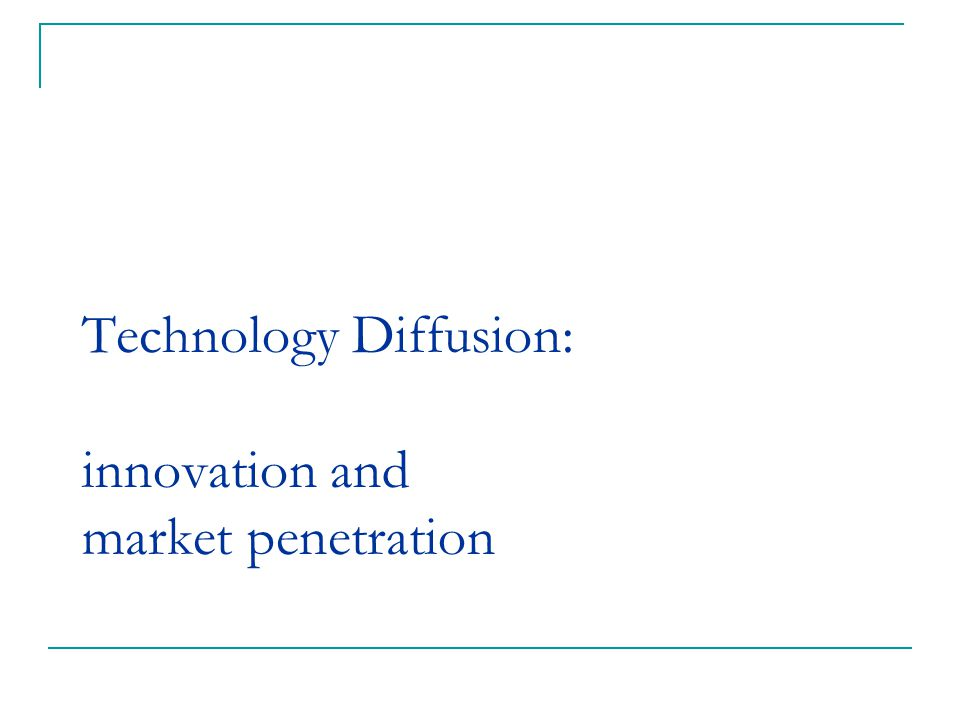 diffusion of technology in society essay Negative impacts of technology on society resource depletion am writing an essay on it maybe u could answer some who is the intended audiance.