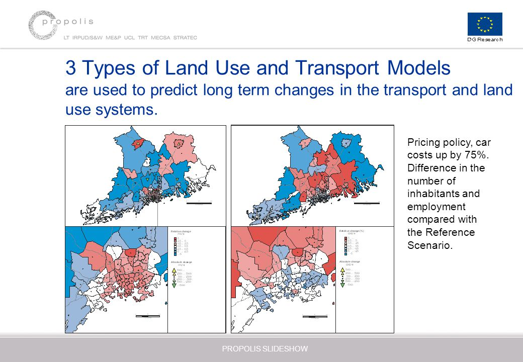 urban transport policy and land use The purpose of this paper is to consider the effectiveness of land use policy as   increased car use has come at the expense of both public transport and non-.