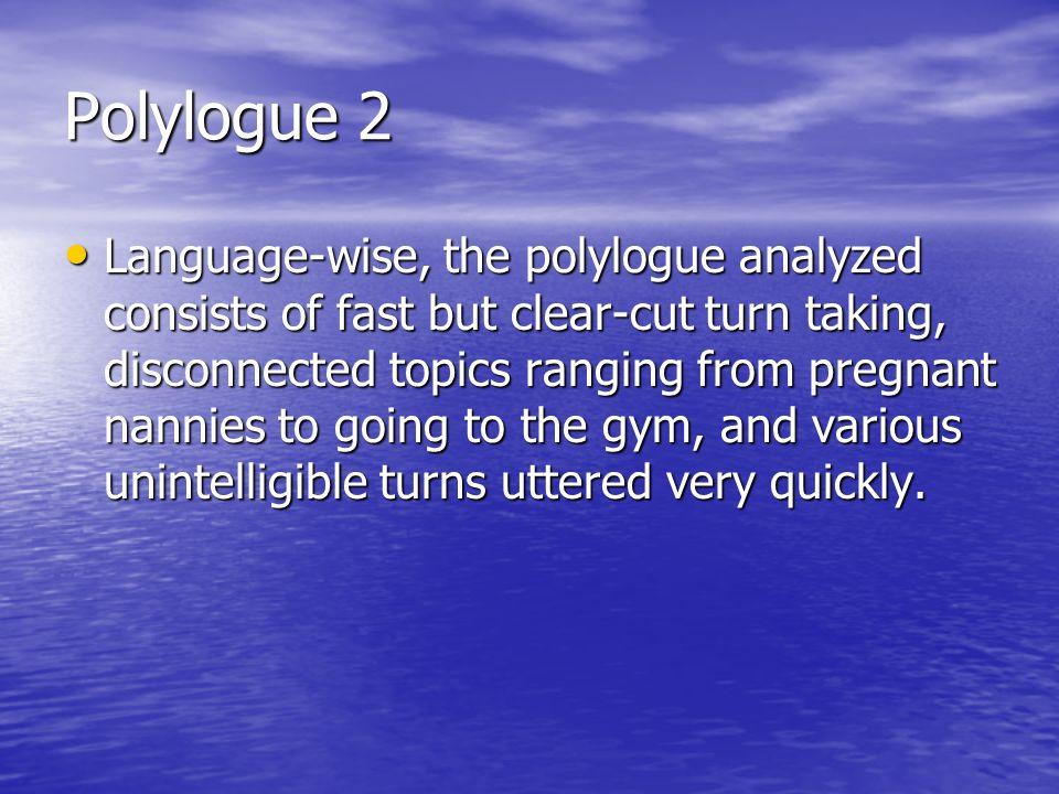 Polylogue 2