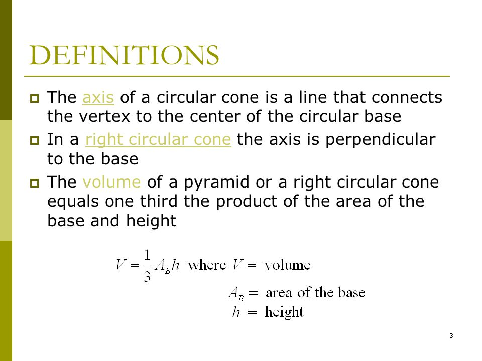 how to find the area of a circular base