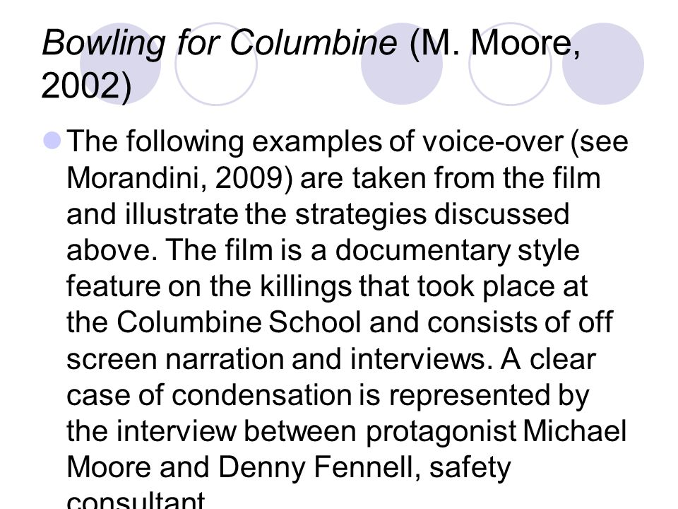 Bowling for Columbine (M. Moore, 2002)
