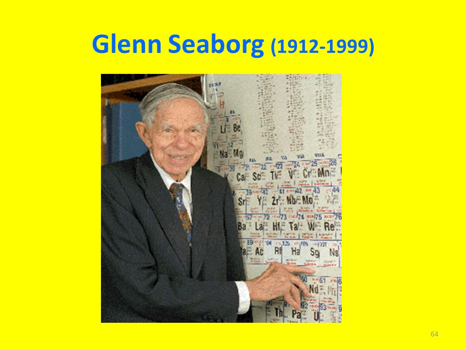 glenn t seaborg and the discovery of plutonium Join facebook to connect with glenn seaborg and others you may know  of course you know it as plutonium this element was  glenn t seaborg glenn t seaborg.