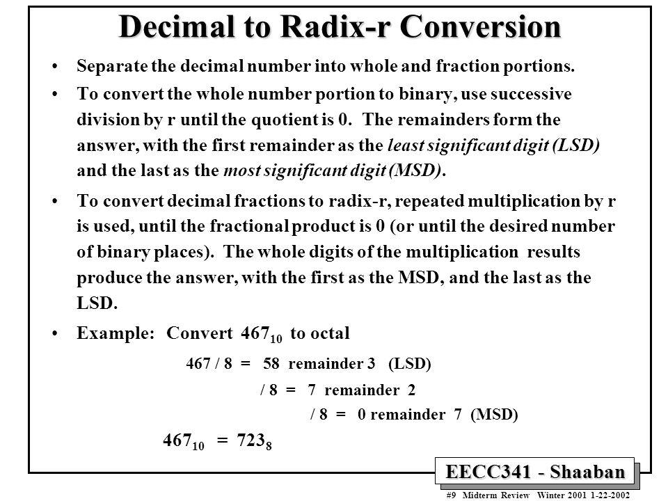Base Conversion Method - Math Is Fun