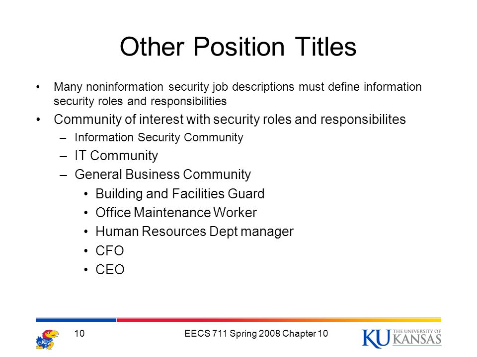 Personnel and Security ppt download