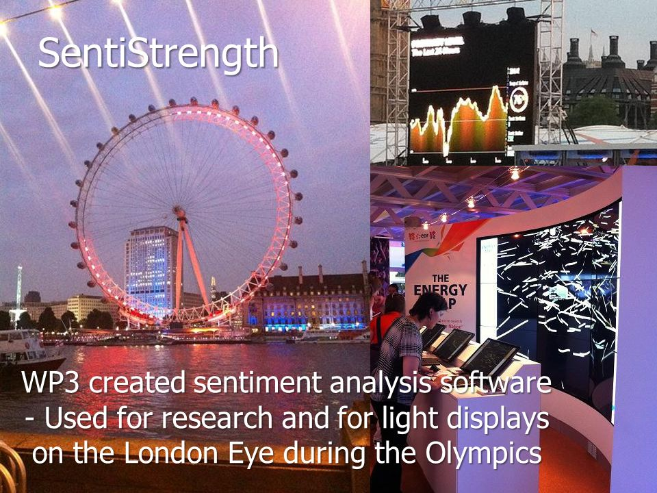 SentiStrength WP3 created sentiment analysis software