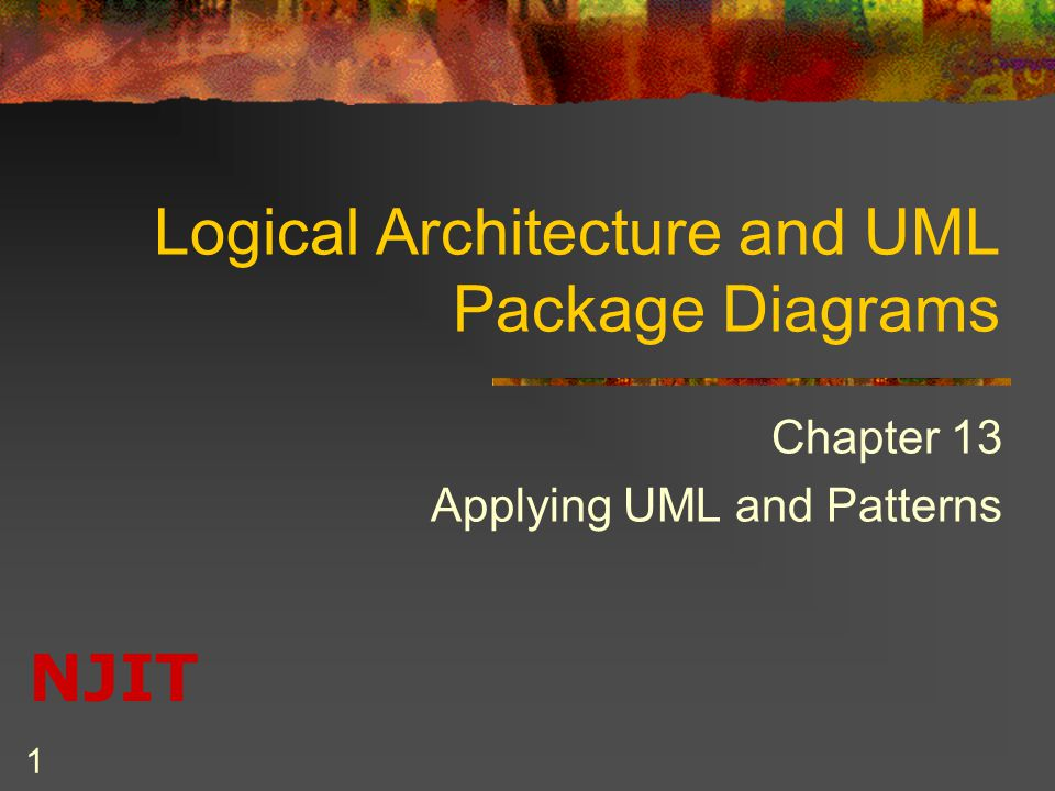 Logical Architecture And Uml Package Diagrams Ppt Video Online