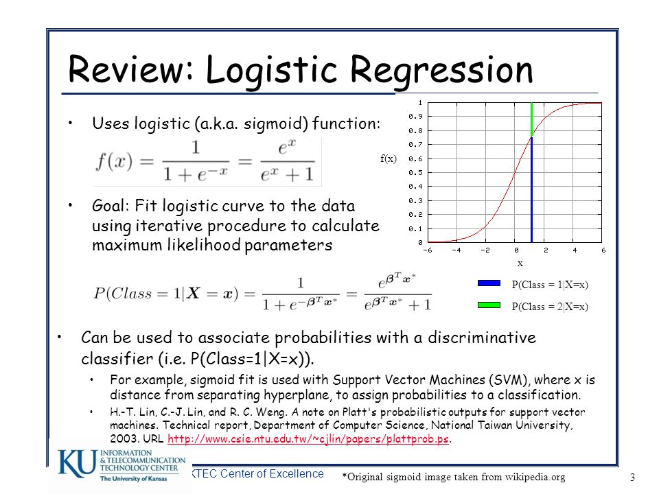 Review: Logistic Regression
