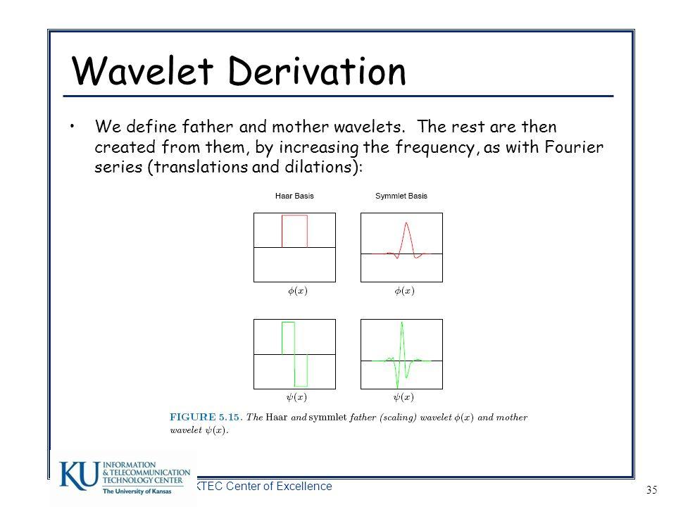Wavelet Derivation