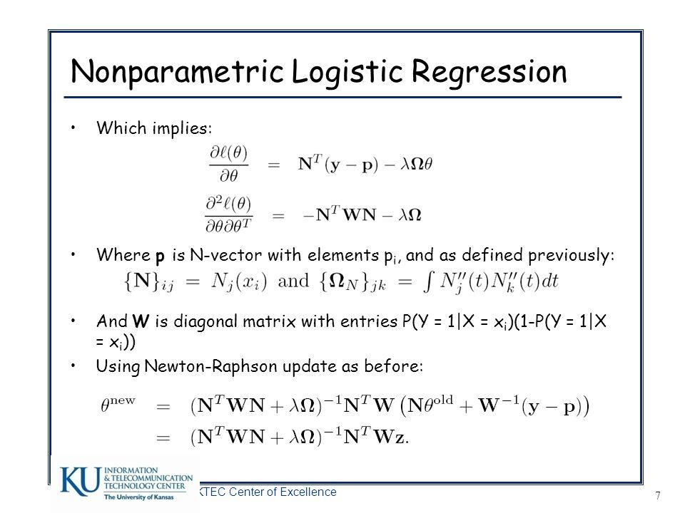 Nonparametric Logistic Regression