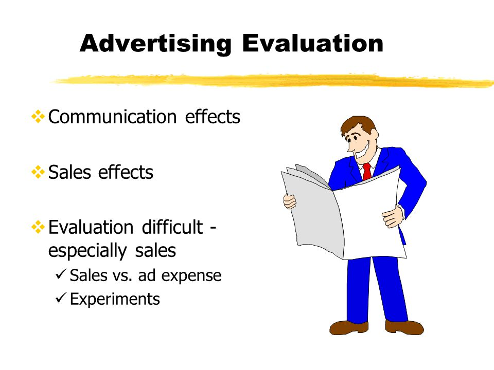evaluation of effectiveness for fedex advertisement Advertising is a common commercial activity the evaluation of advertising  effectiveness is an active area of interest within the advertising research  community,.