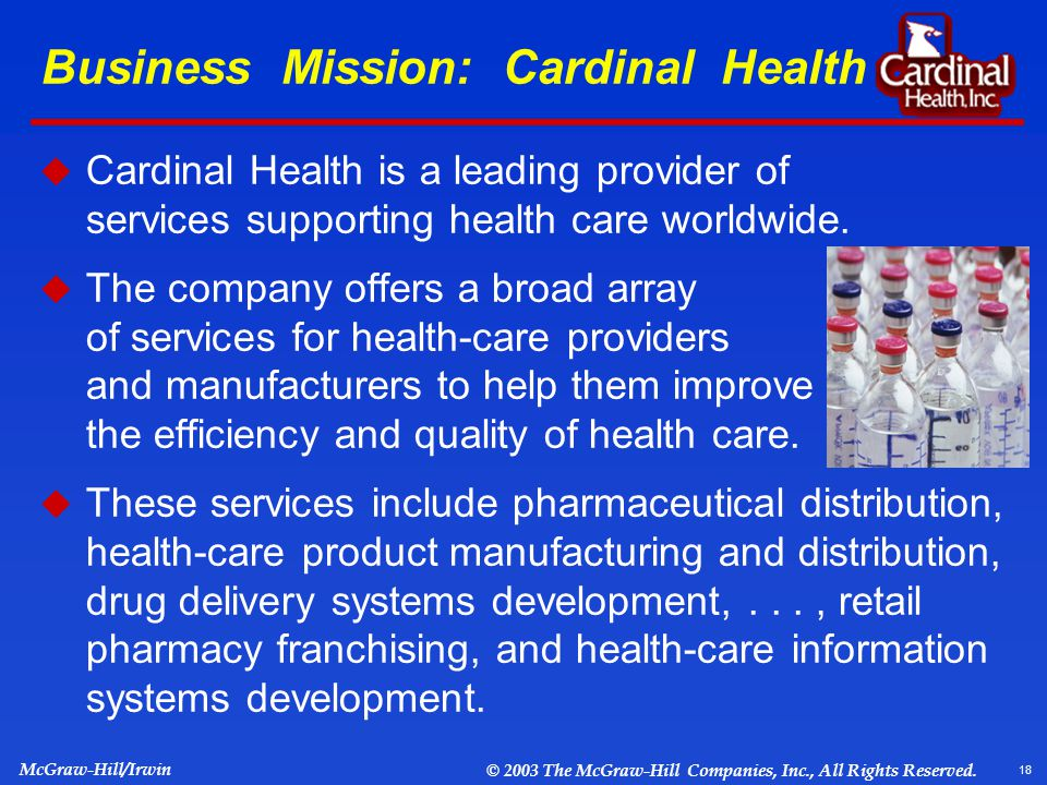 "corporate strategy at cardinal health Many entertainment and media professionals partner with ""behind the scenes"" practitioners such as business managers and agents cardinal point fosters a collaborative approach when interacting with these existing service providers  business analyst with cardinal health."
