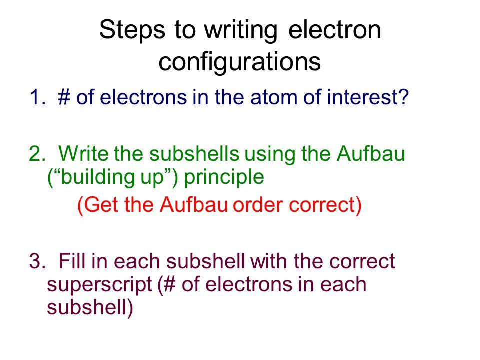 Chem 110Math 90 Atomic Models ppt download – Writing Electron Configuration Worksheet