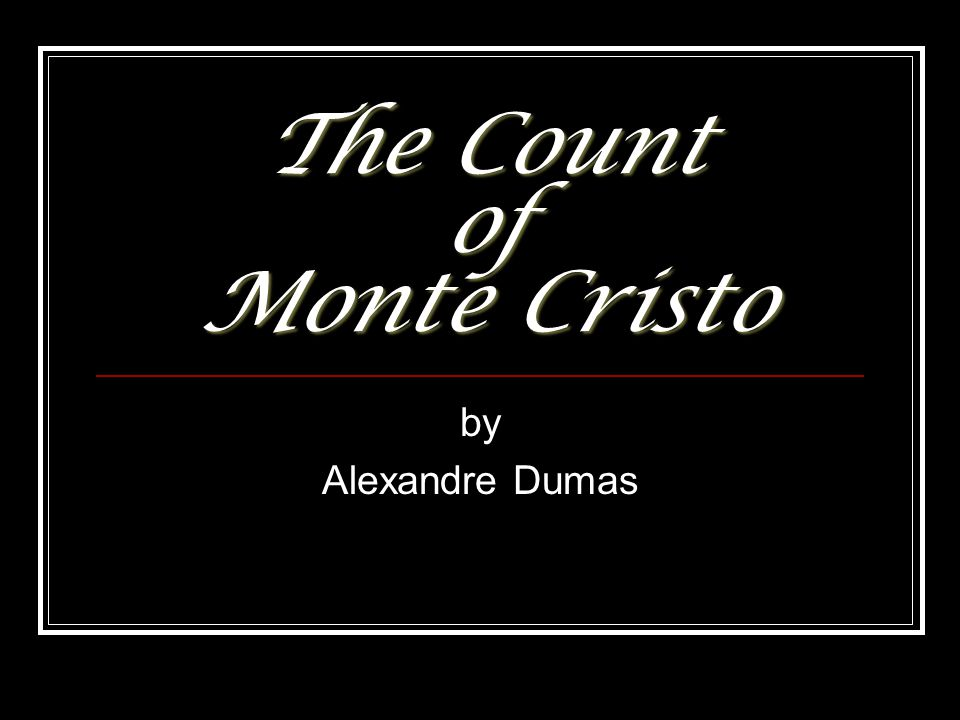 the count of monte cristo analysis