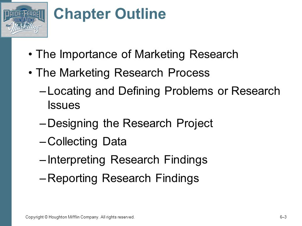 The importance of marketing research marketing essay