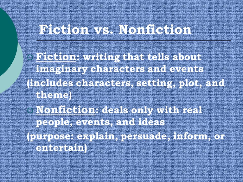 """fiction vs nonfiction essay This post was inspired by the university of iowa's nonfiction essay prize, which is """"given each year to the work that best exemplifies the art of essaying."""