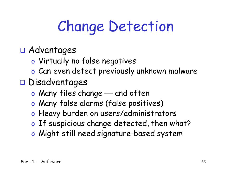 how to detect if the file is changed