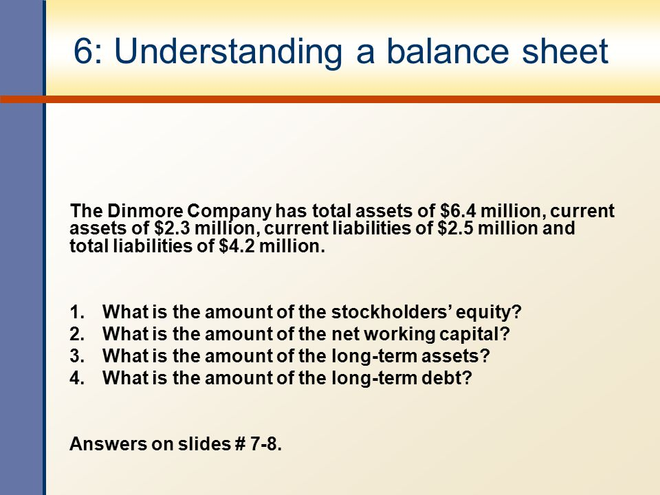 how to work out total equity on balance sheet