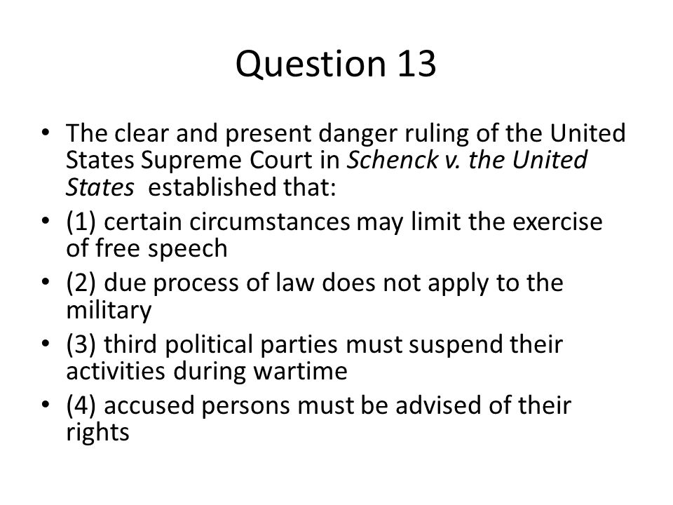 the importance of the right to free speech in the united states Robert lafollettes free speech in wartime eugene debs statement to the court  the united states supreme court has played a large role in us history,  women have the constitutional right to terminate pregnancy united states v nixon.