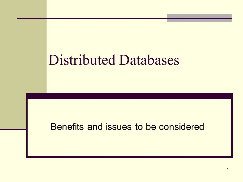 distributed database A ddbms (distributed database management system) is a centralized application that manages a distributed database as if it were all stored on the same computer.