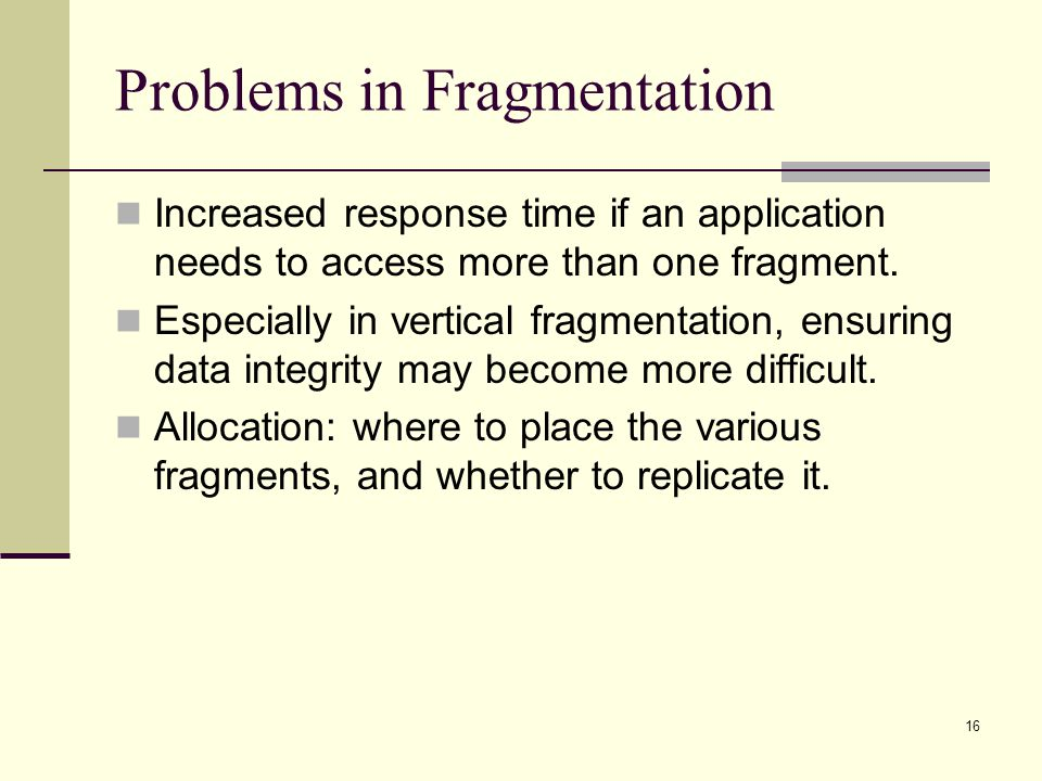 Problems in Fragmentation