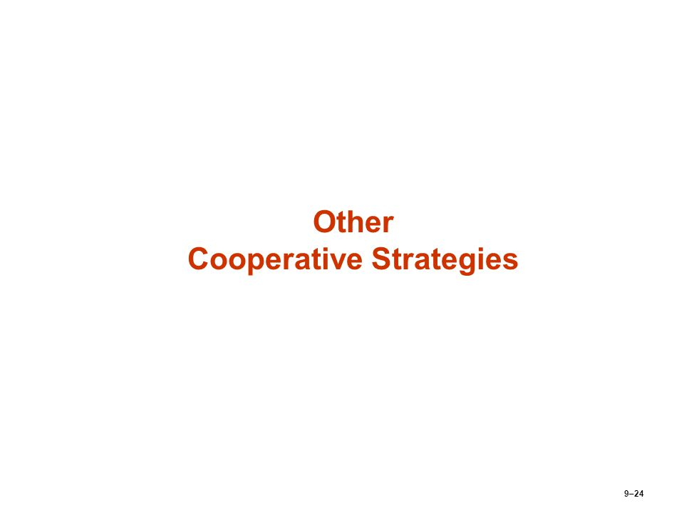 Cooperative Strategic Leadership